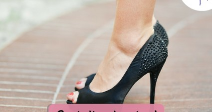 Catchy freebie template shoes